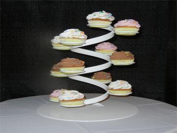 Spiral Wedding Cake Stand
